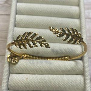 Goddess Collection- Gold Laurel Leaf Bracelet